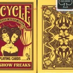 Sideshow freaks playing cards