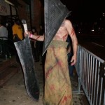 Joe as Pyramid Head