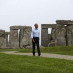Obama goes to Stonehenge