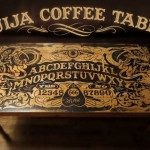 DIY Ouija Board coffee table